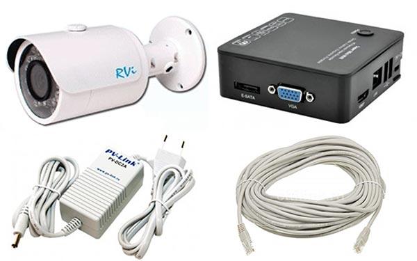 Комплекты видеонаблюдения для самостоятельного монтажа
